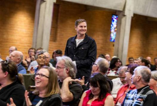 Surprise visit from Rob Bell