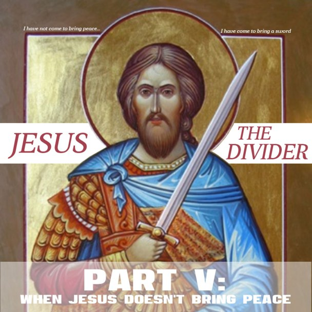 jesus pacifist division peace progressive christianity