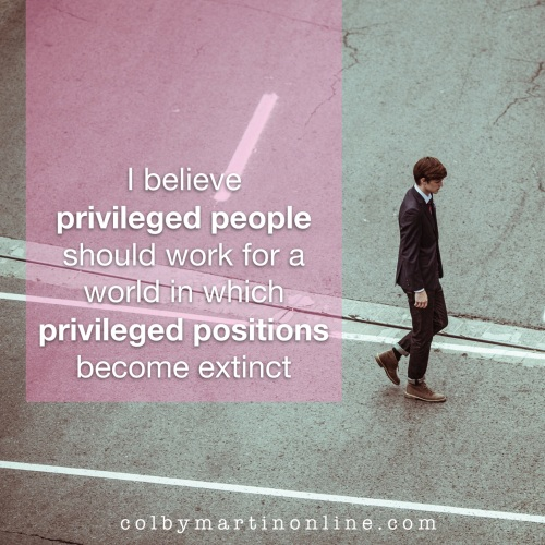 privileged people privileged positions