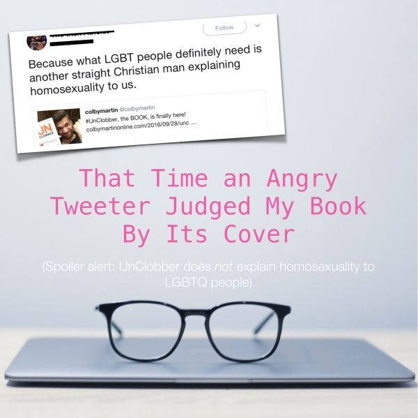 when an angry gay atheist judged my book for straightsplaining